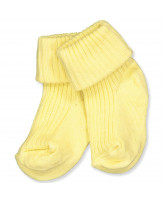 Babysocken in Light Yellow