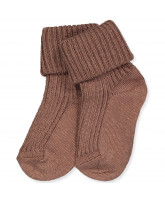 Babysocken in Sienna Brown