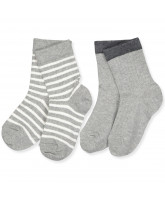 2er-Pack Socken in Grey