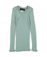 Langarmshirt mit Seide in Green Lake