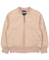 Bomber-Jacke in Mahogany Rose