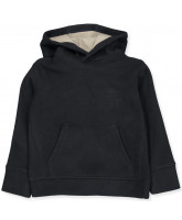 Fleece-Sweatshirt in Navy