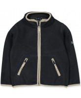 Fleece-Jacke in Navy