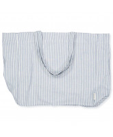 Tote Bag in Alma Blue Stripe