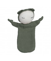Bio Puppe in Olive