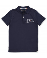 Polo-T-Shirt in Navy