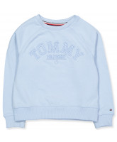 Sweatshirt in Hellblau