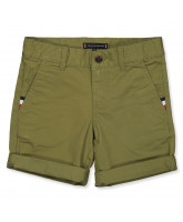Chino-Shorts in Olive