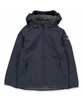 Softshell-Jacke in Blau