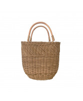 Tasche Bucket in Natural - Klein