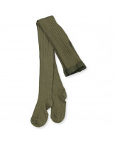 Ripp-Strumpfhose in Army