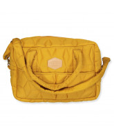 Wickeltasche in Golden Mustard