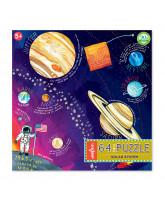 Puzzle 64 pcs - Das Sonnensystem