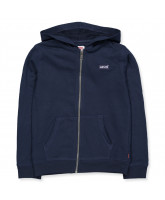 Zip-Sweat in Navy