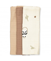 3er-Pack Bio Mullwindel Panda
