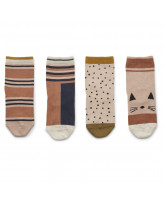 4 Paar Socken Silas