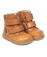 Tex-Winterstiefel in Cognac