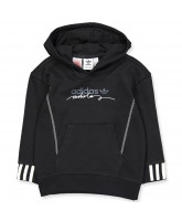Sweatshirt in Schwarz