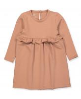 Kleid Sofia Frill - soft sweat