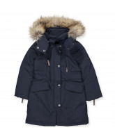 Winterjacke in Navy