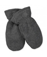 Fleece-Handschuhe in Grau