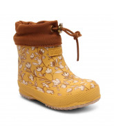 Thermo Wintergummistiefel in Mustard