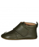 Hausschuhe in Olive