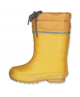 Thermo-Wintergummistiefel in Pale gold
