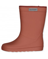Thermo-Wintergummistiefel in Wine