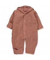 Fleece-Overall mit Wolle Pooh