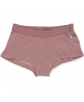 Panty aus Wolle/Seide in Rosa