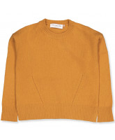 Pullover mit Wolle in Golden yellow