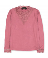 Langarmshirt in Pale Rose