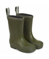 Gummistiefel in Olive