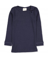 Langarmshirt in Ombre Blue