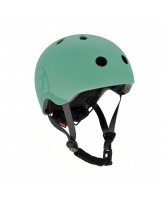 Fahrradhelm S-M - Forest