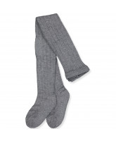 Stopper-Strumpfhose mit Wolle in Grey