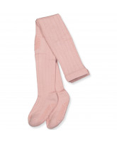 Stopper-Strumpfhose mit Wolle in Rosa