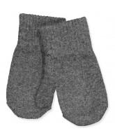 Handschuhe aus Wolle in Antrazite