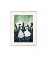 Poster Duck Friends 30x40 cm
