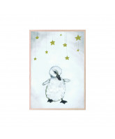 Poster The beautiful duckling 21x30 cm