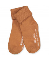 Stoppersocken in Amber Brown