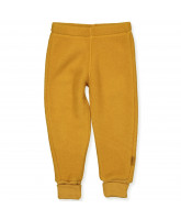 Fleece-Hose aus Wolle in Golden Brown