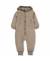 Fleece-Overall aus Wolle in Melange Denver