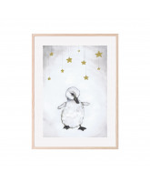 Poster The beautiful duckling 30x40 cm