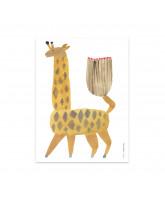 Wanddekoration Noah Giraffe
