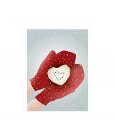 Weihnachten SNOW HEART