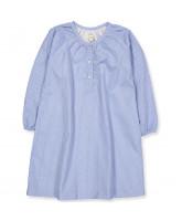 Bio Nachthemd in Shirt Stripe