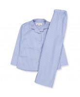 Bio Schlafanzug in Shirt Stripe